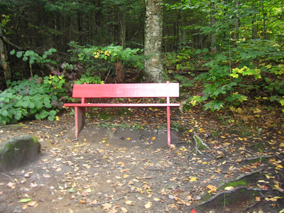 The Red Bench Trail is not very interesting.