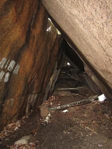 Big Rock Cave was pretty neat.