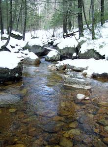 Crossing Whittin Brook