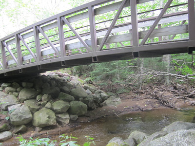 Bridge on the bike path