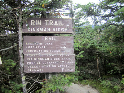 Time to head down the Kinsman Ridge Trail