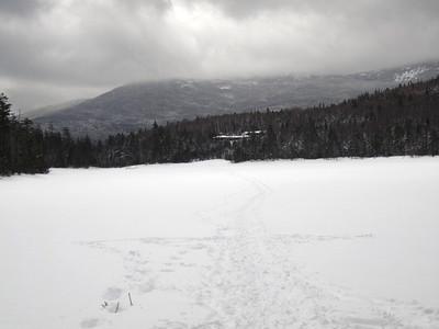 Hut ahead....