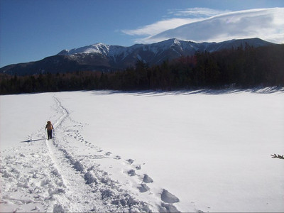 That's me starting to hike out.... (photo courtesy of Silent Cal)