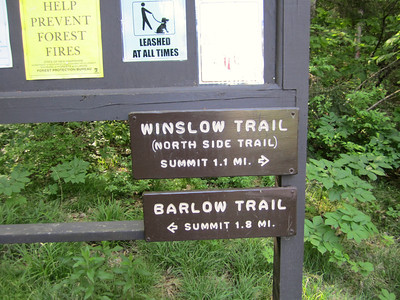 It says Winslow Trail here and two seconds later....