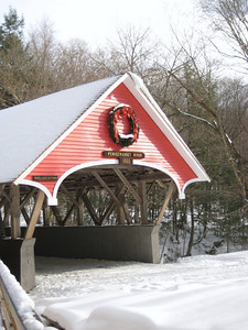 Covered bridge over the Pemi