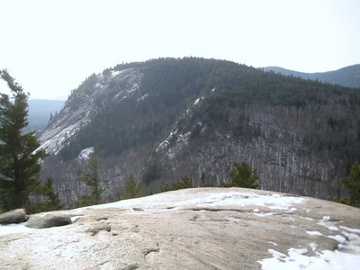 View of Whitehorse Ledge from Cathedral Ledge