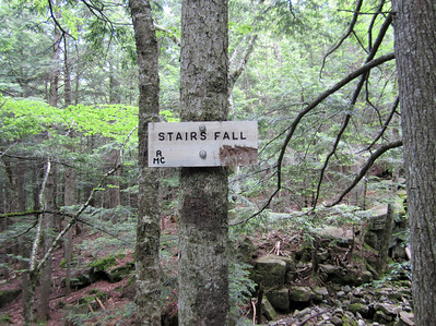 Stairs Fall sign