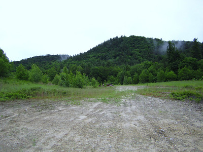 View of the upcoming hike from the logging road on Cotton Mountain