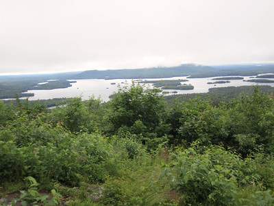 View of Squam Lake from Mt. Livermore