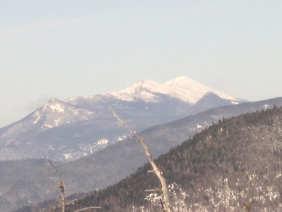 Close up of Liberty, Flume and Franconia Ridge