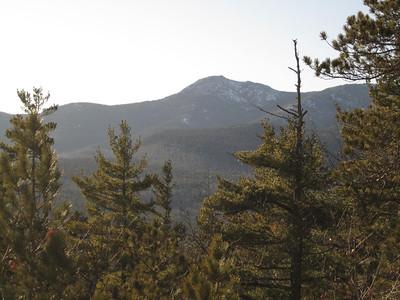 View of Chocorua as we headed down.
