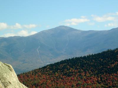 Close up of Mt. Washington