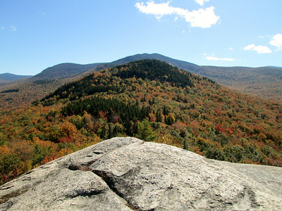 View looking at Middle Sugarloaf