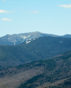 Close-up of Franconia Ridge