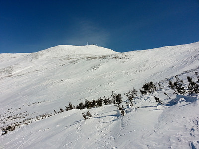 Monroe winter hike