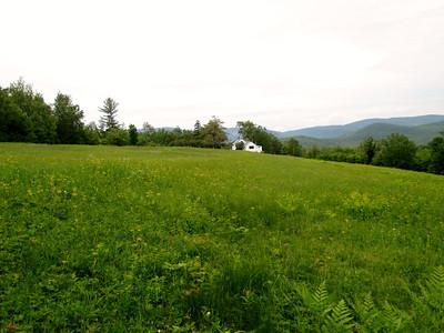 Farm near the trailhead