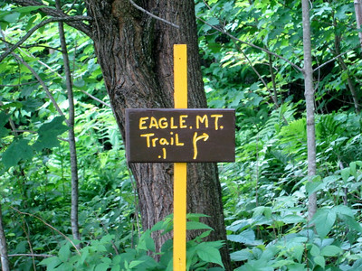 Second hike: Eagle Mountain