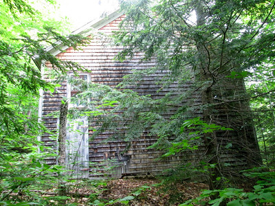 Old pump house (which was running)