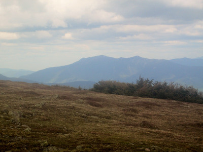 Franconia Ridge in the distance