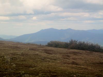 Franconia Ridge in the distance