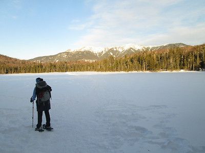 Back down at Lonesome Lake