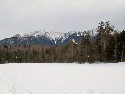 Closeup of Franconia Ridge