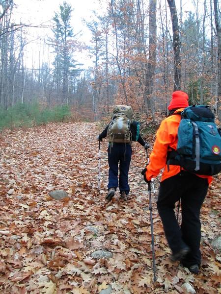 Crippies redlining hike 11.5.16