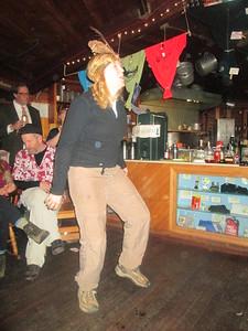 Sue dancing