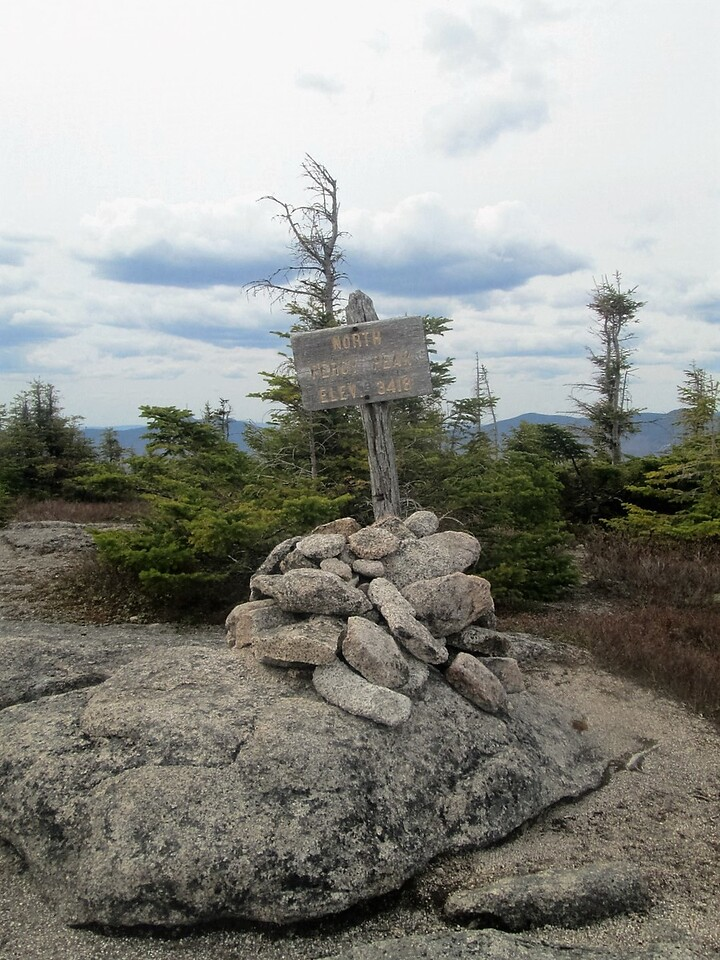 Summit of North Percy