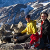 <b>5 Feb 2012</b> On the summit of Ha Ling Peak, the first time for 2012 - Joel and Kristy