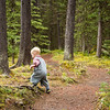 <b>2 July 2012</b> It's slow hiking with a toddler