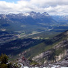More views of Canmore, and down the Bow Valley towards Banff