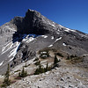 <b>12 June 2010</b> Windtower from West Wind Pass (one of the summits of Mount Lougheed)... the scramble from the Pass to the summit to be saved for another day