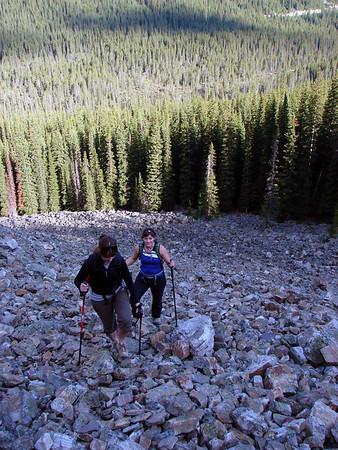 2008: Hiking in the Rockies