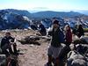On the summit of Howitt - Corey, Ellen, Samantha, Alex, Josie, Emily, Thina