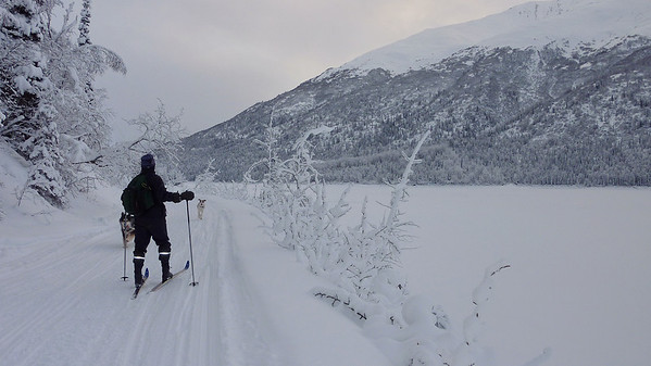 Eklutna Lake, 2 Jan 12