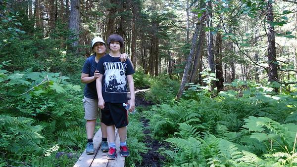 Lower Winner Creek Trail, 5 July 15
