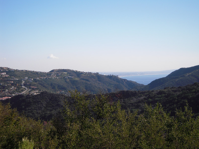 The top of Malibu