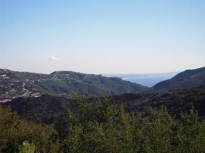 The top of Malibu