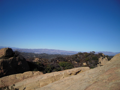 Encino 10 miles away in the distance