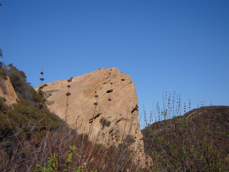 Look real close.....those are people on top of eagle rock ...they look likes ants.