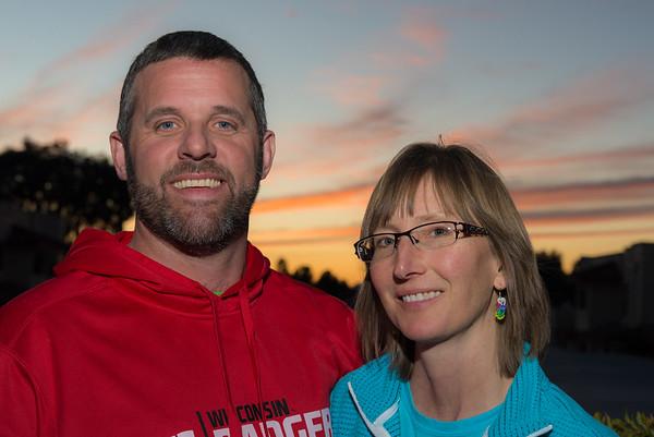 Jason and Sarah visit