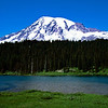 Mount Rainier and Reflection Lake