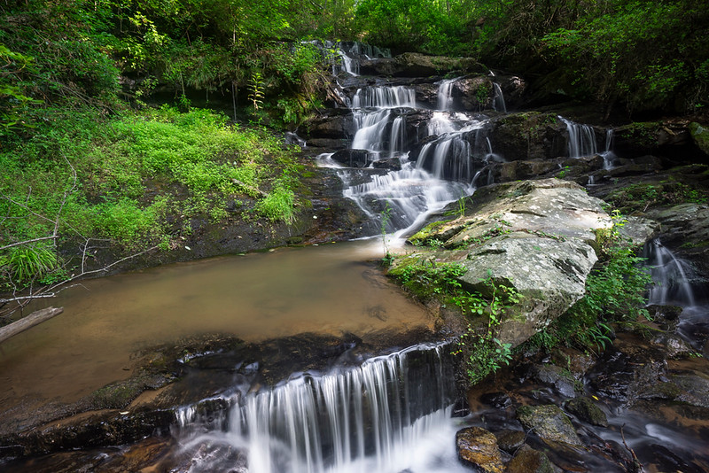 Here is a shot showing a little more of the waterfall.