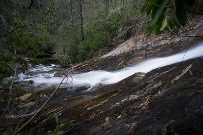 Big Falls on Thomas Creek
