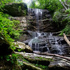 This waterfall is on an unnamed tributary to Middle Fork Broad River near Brown Bottoms in the LRWMA.  Like so many of my postings of late, I learned of the location  from Greg Ford.