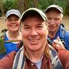 Greg's selfie of the three of us.