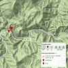 """This GPSVisualizer Terrain map shows where the waterfall is.  Located at the 2240 foot level of Wildcat Creek, it is just down stream from Hellhole Branch.  Let's call it """"Hellhole Falls""""!  Maybe, 200 - 300 yards one way."""