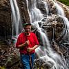 Judaculla@ Bearden Falls; May, 2015.  Judaculla = Georgian trail name.