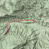 GPS track as shown GpsVisualizer.com